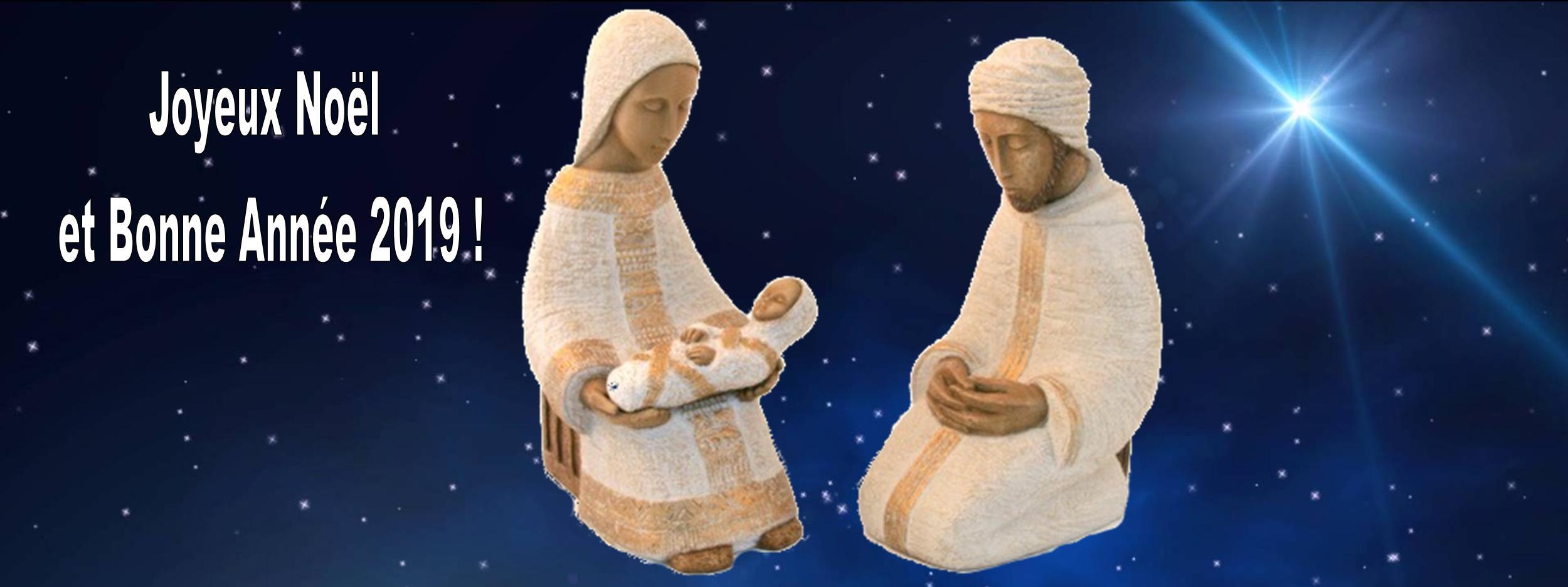 Message de Noël et voeux de Mgr Jacolin