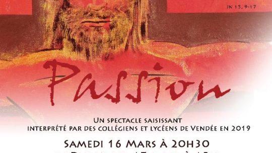Spectacle «Passion» avec les Baladins de l'Évangile